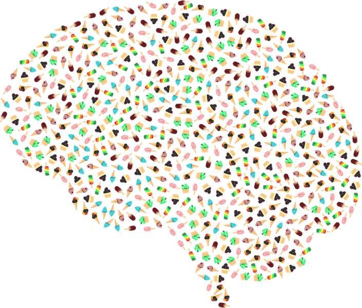 mózg w lody